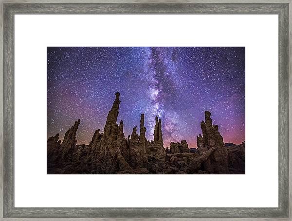 Lost Planet Framed Print