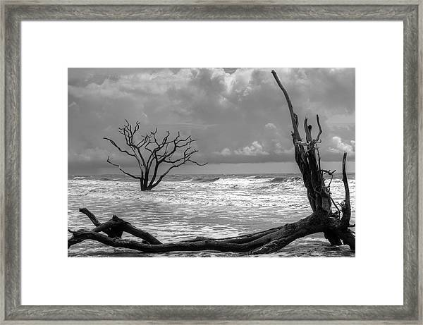 Lost To The Sea Framed Print