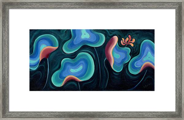 Lotus Reggae Framed Print