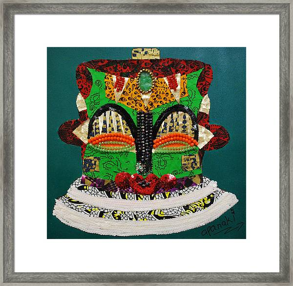 Lotus Warrior Framed Print