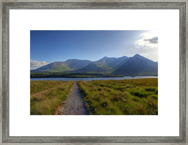 Lough Inagh Framed Print