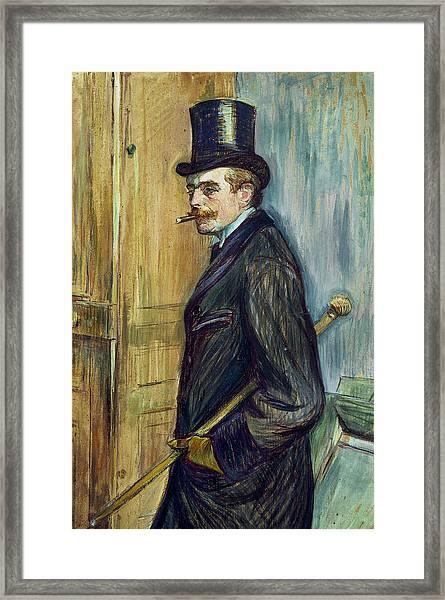 Louis Pascal Framed Print