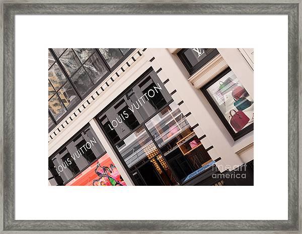 Louis Vuitton 02 Framed Print