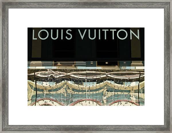 Louis Vuitton Framed Print