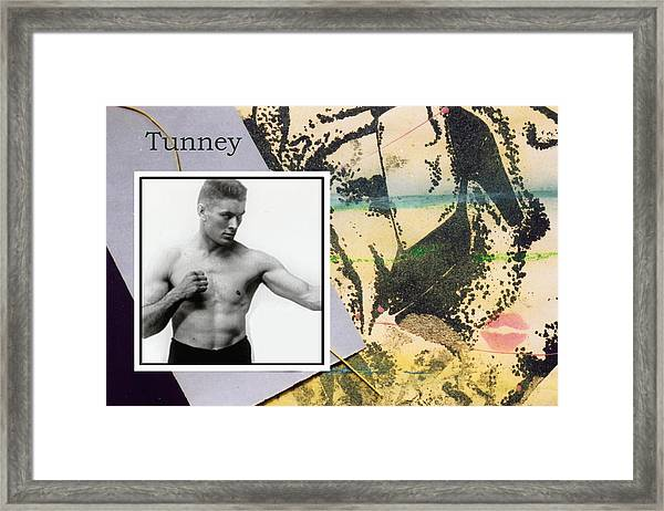 Love And War Tunney Framed Print