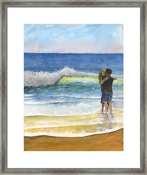 Love Aroused Of Aphros Framed Print