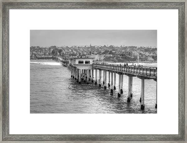 Love At First Wave Framed Print