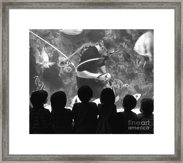 Love Being A Kid Framed Print