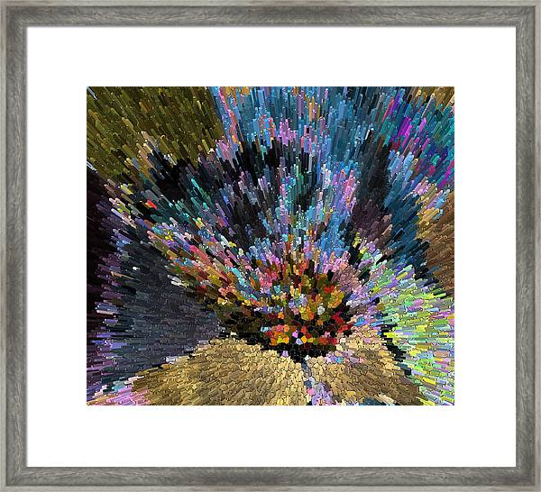 love escape to the Universe  Framed Print