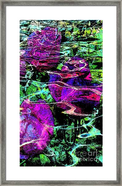 Love Ever Gives Framed Print