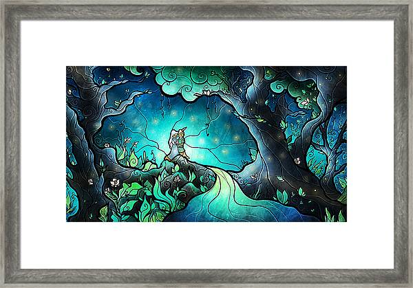 Love Goes On Framed Print