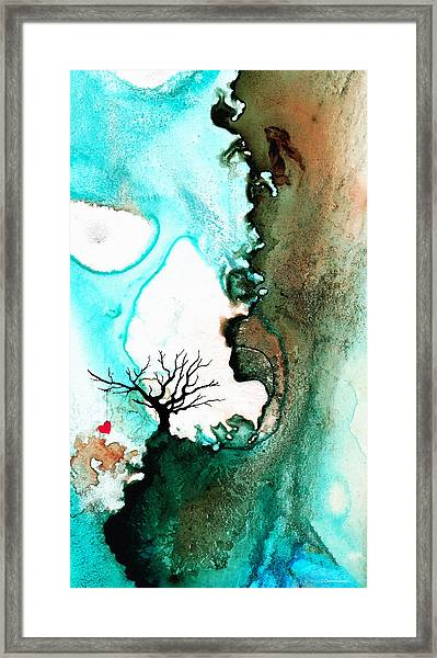 Love Has No Fear - Art By Sharon Cummings Framed Print