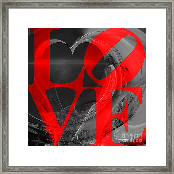 Love Heart 20130707 V1b Framed Print
