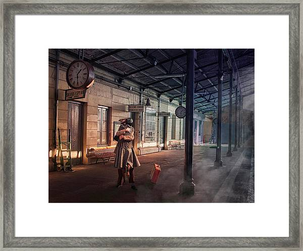 Love Hug Framed Print