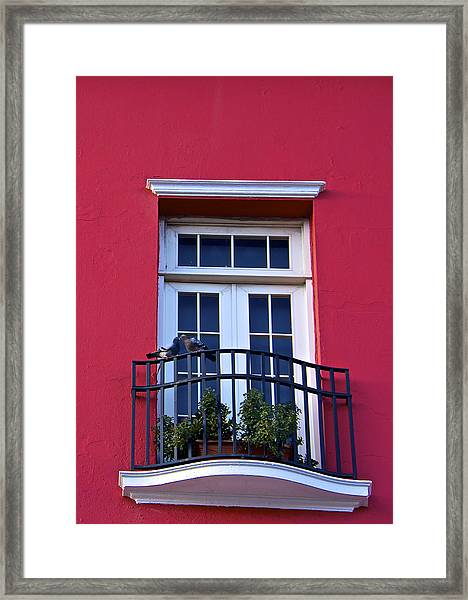 Love In San Juan Framed Print