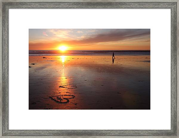 Love Is Close Framed Print