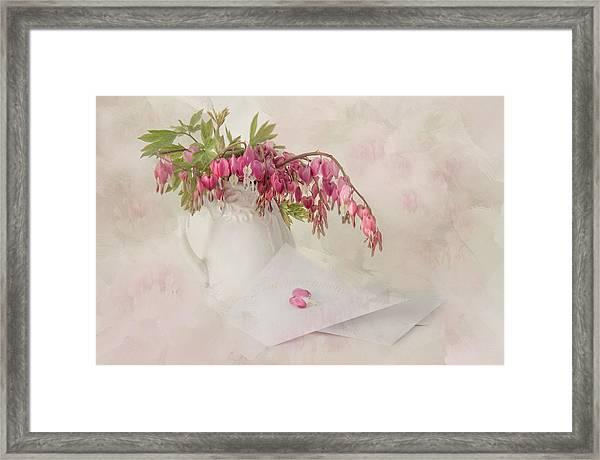 Love Letters Framed Print