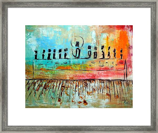 Love One Anoher Framed Print