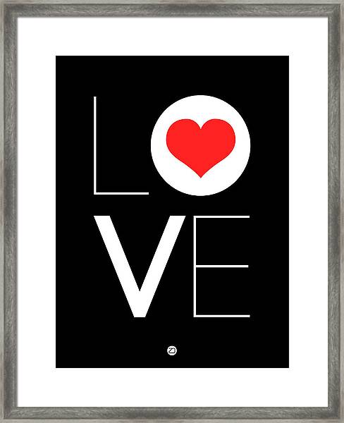 Love  Poster 7 Framed Print