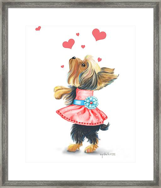 Love Without Ends Framed Print