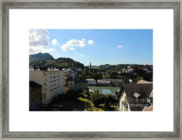 Lovely Lourdes Framed Print