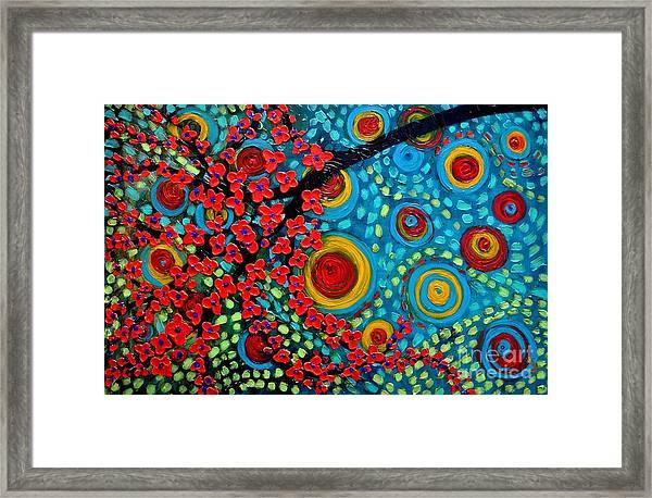 Lovely Red Framed Print