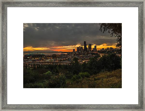 Lovely Seattle Framed Print