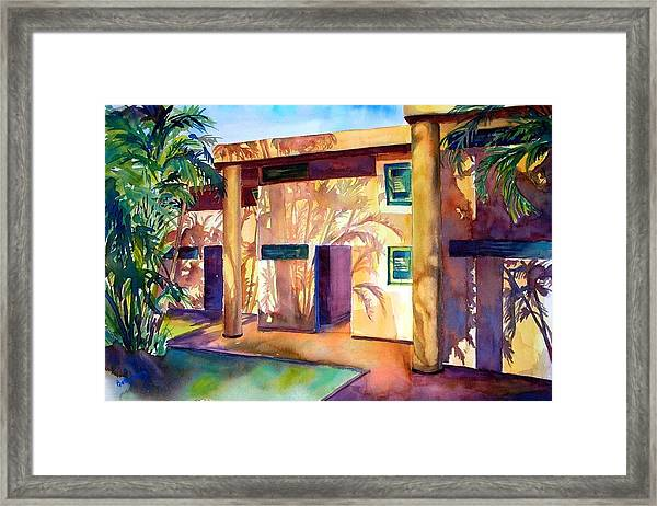 Lovely Shadows Framed Print