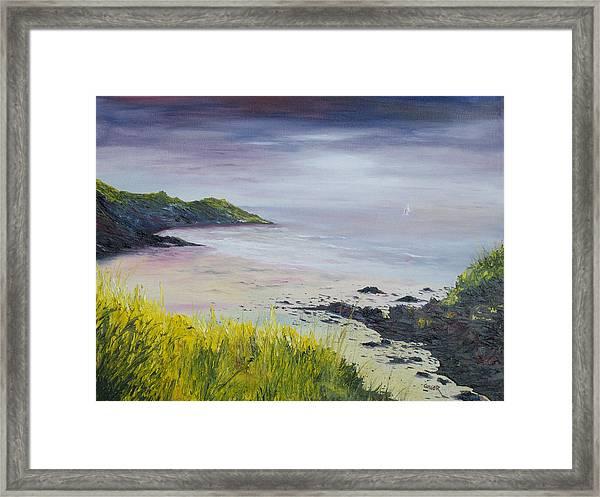 Lovers Cove Kinsale   Framed Print