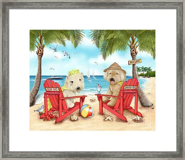 Loving Key West Framed Print