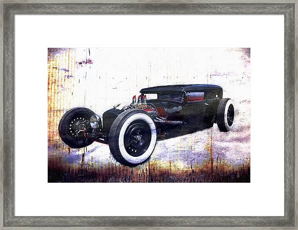 Low Boy V3.0 Framed Print