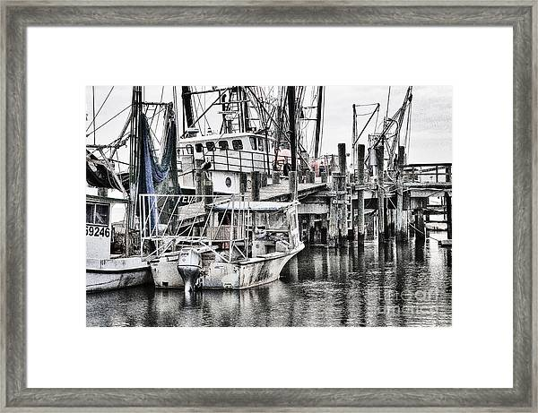 Low Country Small Craft Framed Print