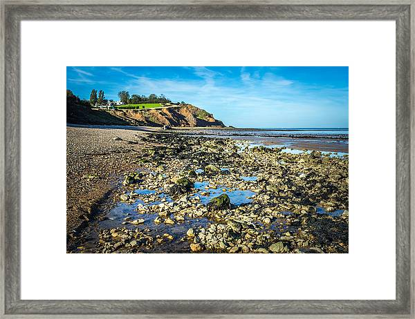 Low Tide. Framed Print
