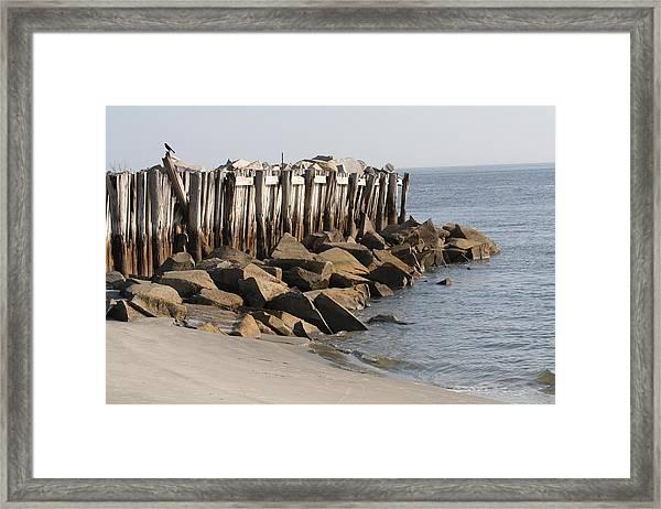Low Tide On Sullivans Island Framed Print