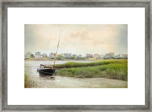 Low Tide On The Basin Framed Print
