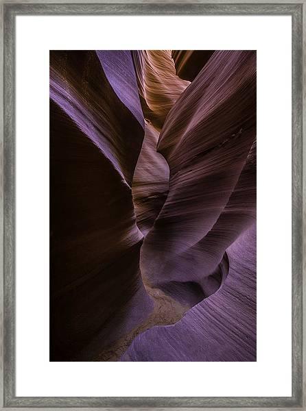 Lower Antelope Canyon Framed Print