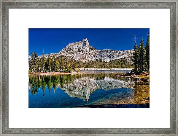 Lower Cathedral Lake Framed Print