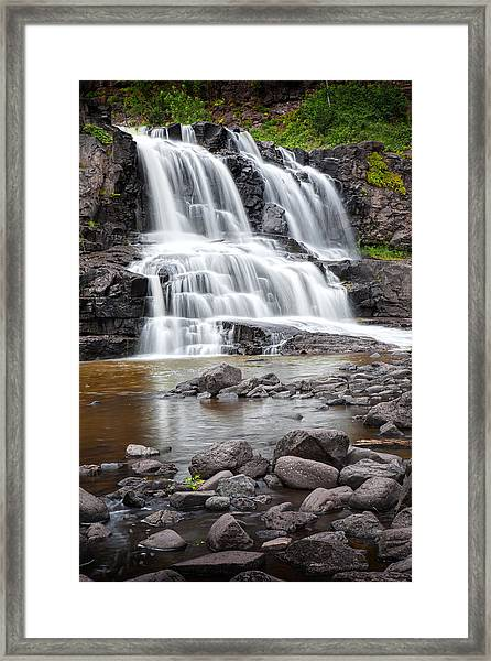 Lower Gooseberry Falls Framed Print