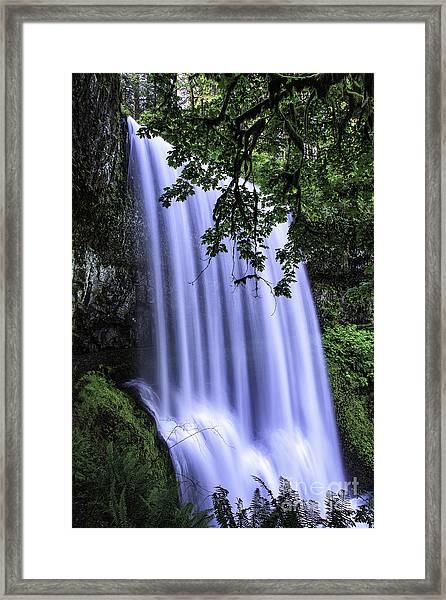 Lower South Falls IIi Framed Print