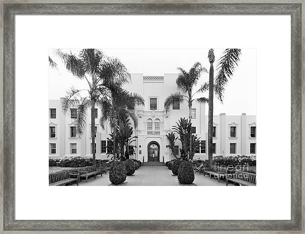 Loyola Marymount University Xavier Hall Framed Print