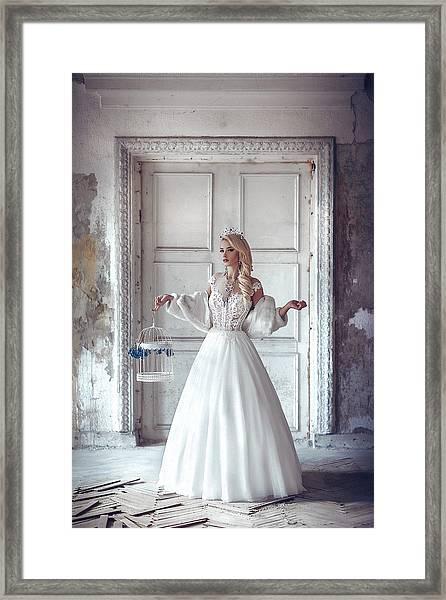 Luceat Lux Vestra Framed Print