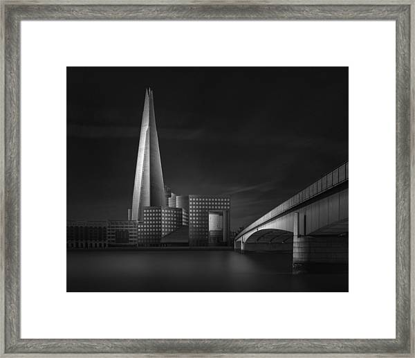 Lucid Dream II - The Shard & London Bridge Framed Print