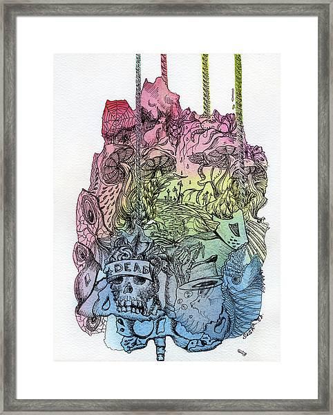 Lucid Mind - 11 Framed Print