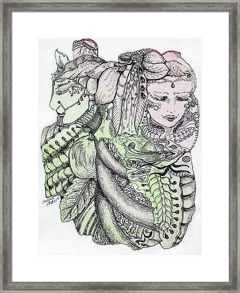 Lucid Mind - 12 Framed Print