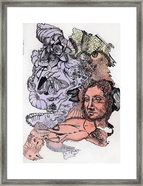 Lucid Mind - 4 Framed Print