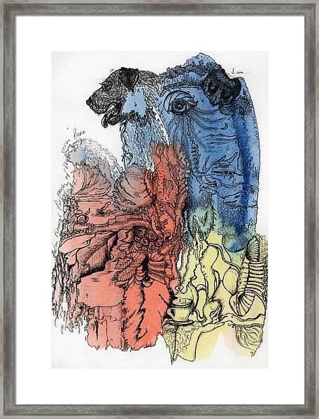 Lucid Mind - 6 Framed Print
