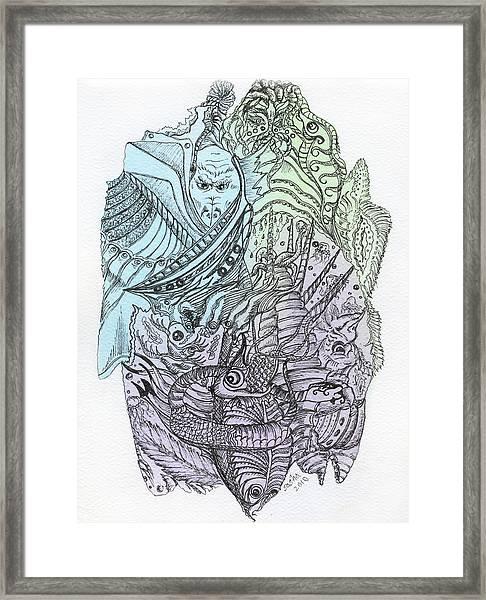 Lucid Mind - 9 Framed Print