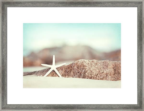 Lucky Star Framed Print