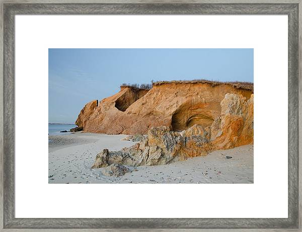 Lucy Vincent Cliff Framed Print