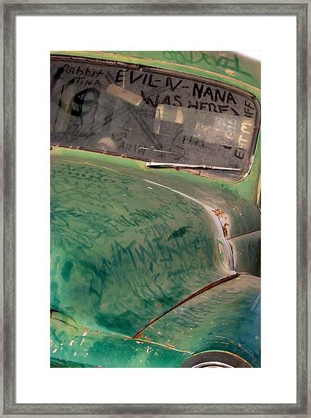 Ludlow California Framed Print